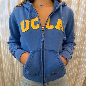 VINTAGE UCLA ZIPUP SWEATSHIRT